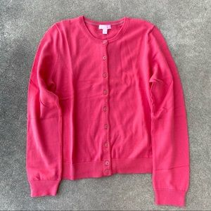 Lilly Pulitzer Paley Cardigan Island Coral NEW